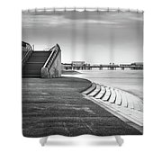 Central Pier Blackpool Shower Curtain