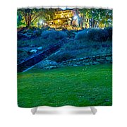 Classic Historic Banquet And Event Home And Backyard Shower Curtain