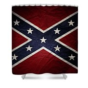 Confederate Flag 8 Shower Curtain