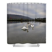 Coniston Water Shower Curtain