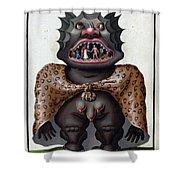Demonology, 18th Century Shower Curtain