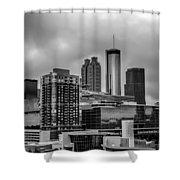 Downtown Atlanta, Georgia Usa Skyline Shower Curtain