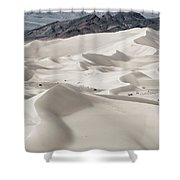 Dumont Dunes 5 Shower Curtain by Jim Thompson