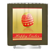 Easter. Shower Curtain