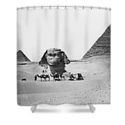 Egypt: Great Sphinx Shower Curtain