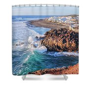 El Golfo - Lanzarote Shower Curtain