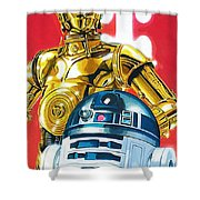 Episode 1 Star Wars Art Shower Curtain