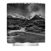 Fairy Pools Of River Brittle Shower Curtain