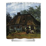 Farmhouse In Nuenen Shower Curtain