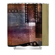 Film Strips 3 Shower Curtain