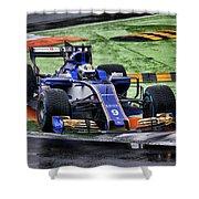 Formula 1 Monza 2017 Shower Curtain