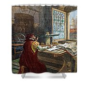 Galileo Galilei, 1564-1642 Shower Curtain