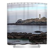 Godrevy Lighthouse - England Shower Curtain