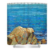 Granville Redmond Shower Curtain