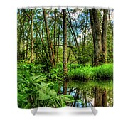 Great Swamp Shower Curtain