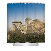 Great Wall Of China - Jinshanling Shower Curtain