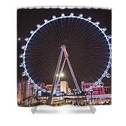 High Roller - Las Vegas Nevada Shower Curtain