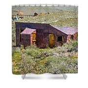 Homestead, Bodie Ghost Town Shower Curtain