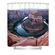 Horseshoe Bend Colorado River Arizona Usa Shower Curtain