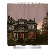 House Shower Curtain