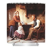 In Disgrace William Henry Midwood Shower Curtain