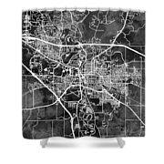 Iowa City Map Shower Curtain