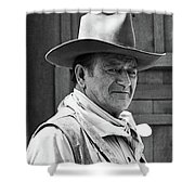 John Wayne Rio Lobo Old Tucson Arizona 1970 Shower Curtain