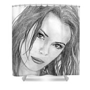 Miss Beckinsale  Shower Curtain