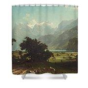 Lake Lucerne Shower Curtain