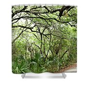 Lakes Park Shower Curtain
