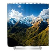 Landscape Acrylic Shower Curtain