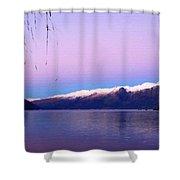 Landscape Definition Shower Curtain