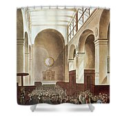 London Stock Exchange Shower Curtain