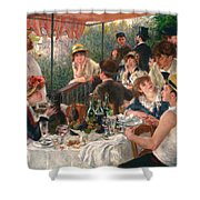 Luncheon Of The Boating Party Shower Curtain