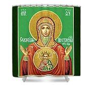 Mary Saint Art Shower Curtain
