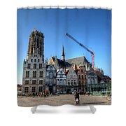 Mechelen Belgium Shower Curtain