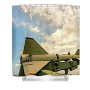 Military Weapons, Ballistic, Anti-aircraft, Medium-range Missile 6 Shower Curtain