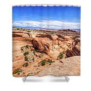 Moab Shower Curtain