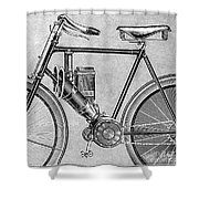 Motorcycle, 1895 Shower Curtain