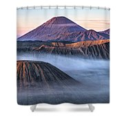 Mount Bromo - Java Shower Curtain