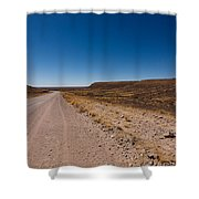 Namibia Road Shower Curtain