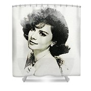 Natalie Wood, Actress Shower Curtain