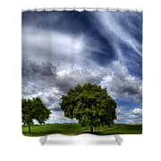 Nature By Shower Curtain
