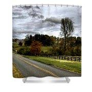 Nature Landscape Shower Curtain