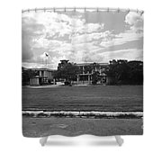 New Delhi India Shower Curtain