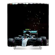 Nico Rosberg Shower Curtain