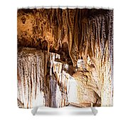 Onondaga Cave Formations Shower Curtain
