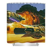 Original Star Wars Art Shower Curtain