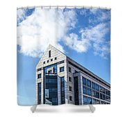 5 Point Centeral  Shower Curtain