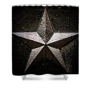 5-pointed Star Shower Curtain